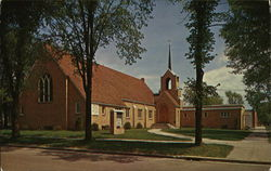 Zion Evangelical Lutheran Church Postcard