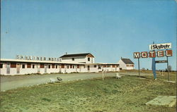 Skyliner Motel Postcard
