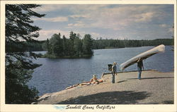 Sawbill Canoe Outfitters Postcard
