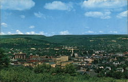 Hilltop View of Clearfield, PA