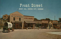 Front Street, Boot Hill Postcard