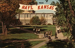 Greetings from Hays, Kansas