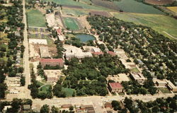 Air View Kansas State Teachers College Campus