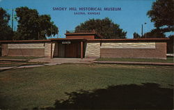 Smoky Hill Historical Museum Postcard