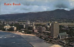 Aerial View of Kuhio Beach
