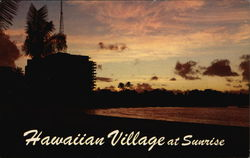 Hawaiian Village at Sunrise