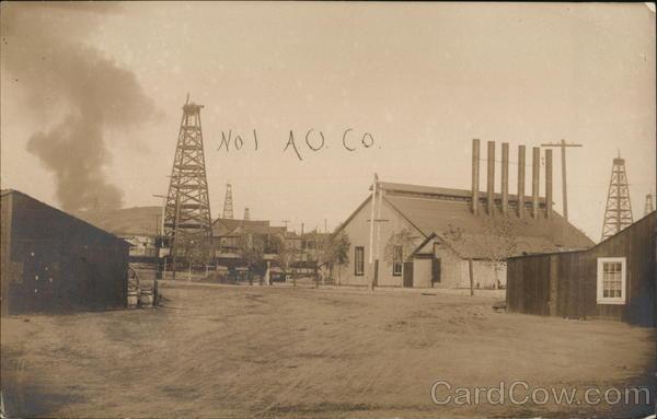 No. 1 AO. Co Oil Wells