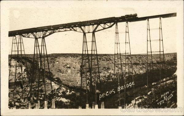 Pecos High Bridge Langtry Texas