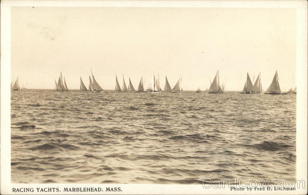 Racing Yachts Marblehead Massachusetts