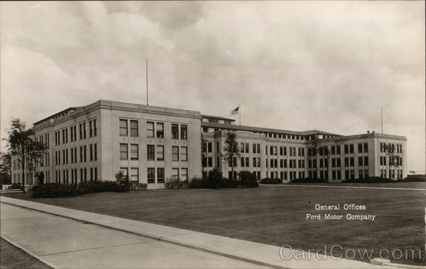 Ford Motor Company - General Offices, Rouge Plant Dearborn Michigan