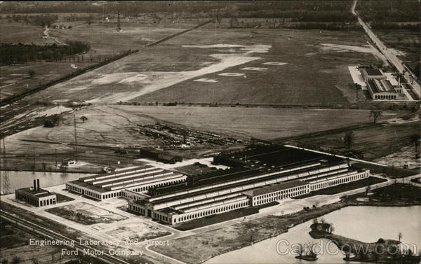 Ford Motor Company Engineering Lab and Airport Dearborn Michigan