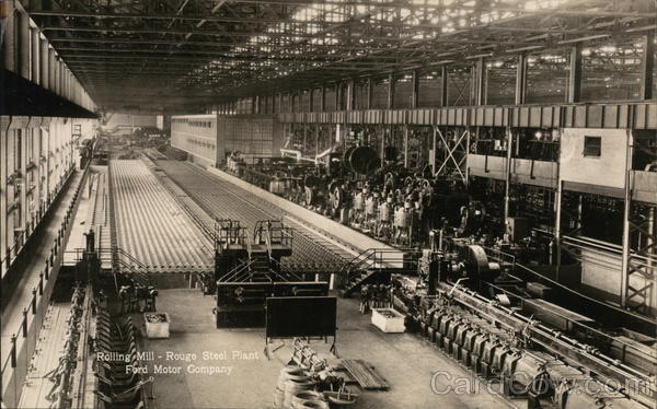 Ford Motor Company - Rolling Mill, Rouge Steel Plant Dearborn Michigan