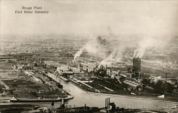 Ford Motor Comapny - Rouge Plant Dearborn Michigan