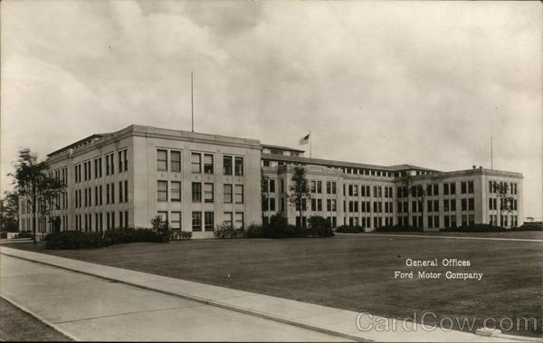 General Offices, Ford Motor Company Dearborn Michigan
