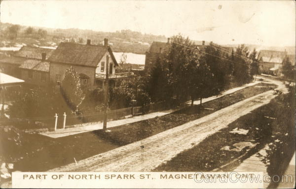 Part of North Spark Street Magnetawan Canada Ontario