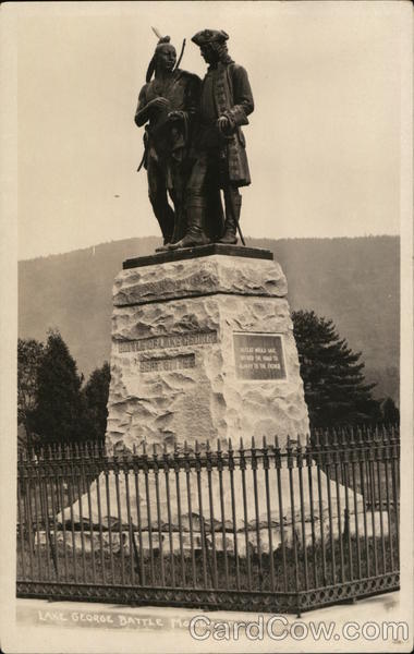 Lake George Battle Monument Arcadia Wisconsin