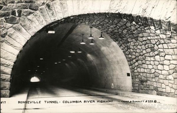 Bonneville Tunnel Columbia River Highway Oregon