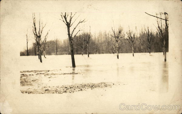 1913 Flood at Persom Mill Disasters