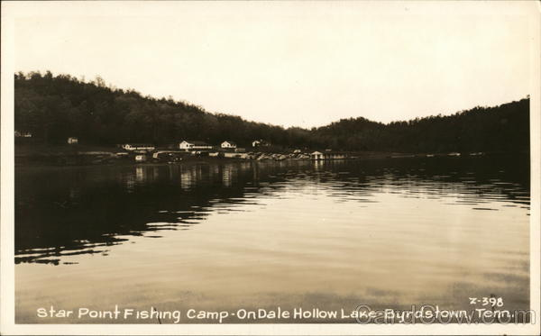 Star Point Fishing Camp Byrdstown Tennessee