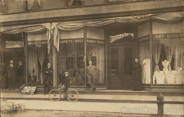 Baldwin & Smith Dry Goods Store Deruyter New York Bicycles