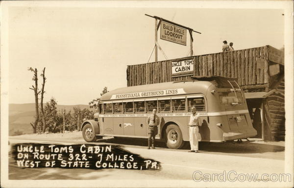 Uncle Tom's Cabin, Greyhound Bus