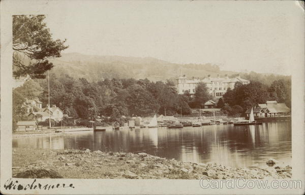 View of Windermere Lake England