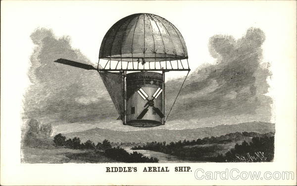 Riddle's Aerial Ship Hot Air Balloons
