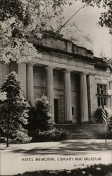 Hayes Memorial Library and Museum Postcard