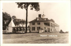 View of Mount Vernon Postcard