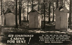 Air Conditioned Cabins For Rent!
