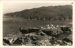 Tatoosh Island and Cape Flattery
