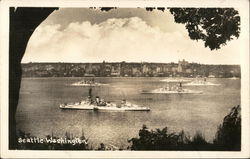 Navy Ships In Puget Sound
