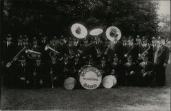 Rochelle Municipal Band Postcard