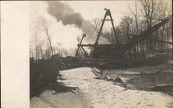 Dredging Operation or Steam Shovel