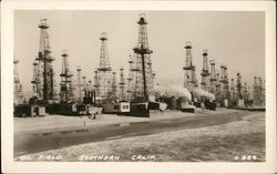 Oil Field, Southern Calif.