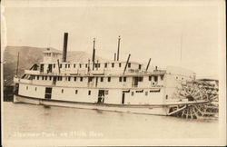 Steamer Tuchi on Atlin Run