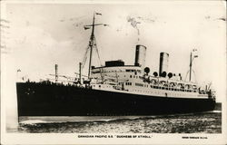 "Canadian Pacific S.S. ""Duchess of Atholl"""