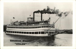 "Excursion Steamer ""Avalon"""