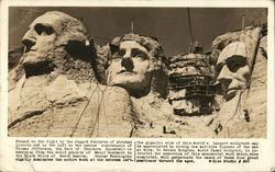 Building Mt. Rushmore