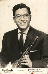 Don Bonnee, Clarinetist