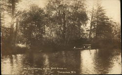 Headwaters of the Somo River Tomahawk, WI Postcard