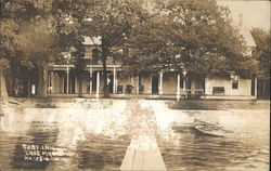 Toby Inn, Lake Marie Postcard