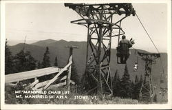 Mt. Mansfield Chair Lift, Mt. Mansfield Ski Area