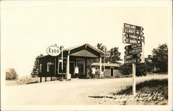 Red House Esso Filling Station