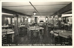 Hemlock Lodge, Dining Room - Natural Bridge State Park