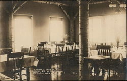 Dining Room, Chimney Mt. House
