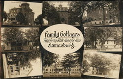 New Jersey State Home for Boys - Family Cottages Postcard