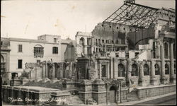 Royal Opera House After a Blitz