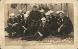 No. 5 Gun Crew of the USS Florida 1918