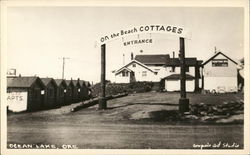 On The Beach Cottages, Entrance